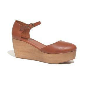 Madewell Flatstack Platform Shoes